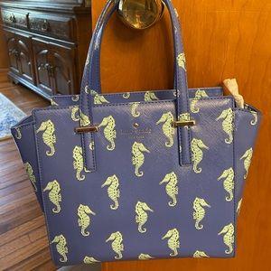 Kate Spade seahorse purse.